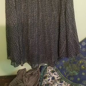 Pop Sugar Skirts - Two Pleated Skirts XL